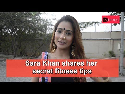Xxx Mp4 Sara Khan Shares Her Secret Fitness Tips 3gp Sex