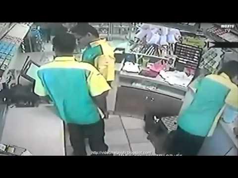Pekerja Petronas Curi RM 4000 Kena Tangkap Kantoi Sebab Rakaman CCTV