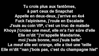 La Fouine feat L'artiste - Insta (Paroles)