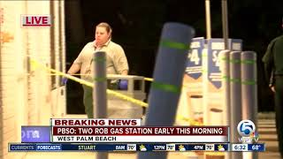 Armed man, woman rob Cumberland Farms gas station near West Palm Beach