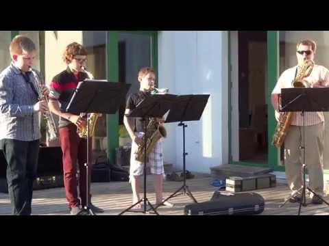 Tabasalu Muusikakooli Saksofonikvartett - Pan-Am Rag