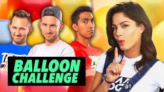 BALLOON JUGGLING CHALLENGE ft. Team Edge
