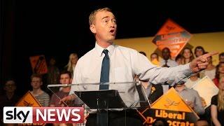 Tim Farron's First Speech As Lib Dem Leader