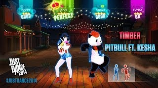 Pitbull ft. Ke$ha - Timber | Just Dance 2014 | DLC Gameplay