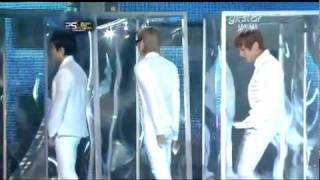 101209 Super Junior - Sorry Sorry + BONAMANA (Special Stage) @ Golden Disk Award