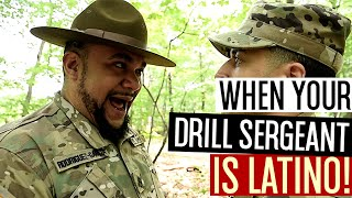 When Your Drill Sergeant Is Latino!