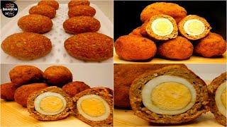 Egg Kebab/Nargis Kebab//طرز تهیه نرگس کباب به روش آشپزی بهارستان