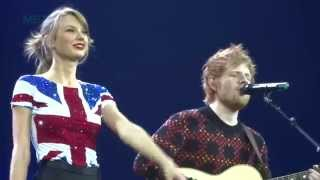 Lego House - Taylor Swift and Ed Sheeran - Red Tour - Multi-Cam - February 1, 2014