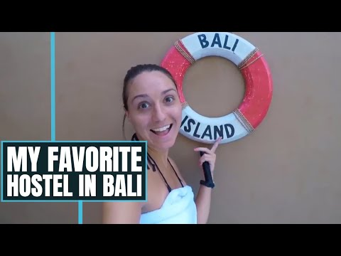THE BEST HOSTEL IN BALI? I found an amazing place in Jimbaran, Bali, Indonesia  //  206