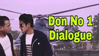 ||Don No 1 ||Nagaarjun best dialogue _hindi_ Dinesh kathayat //aryan sewa
