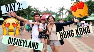 DAY 2: Disneyland Hong Kong!!! (PART 1) - MichelleFamilyDiary