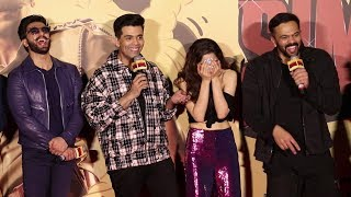 Ranveer Singh & Sara Ali Khan FUNNY MOMENTS At Simmba Trailer Launch