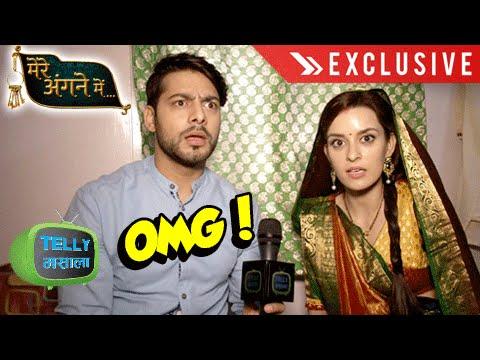 Ekta And Karam Take The OMG Challenge   Mere Angne Mein   Interview   Star Plus