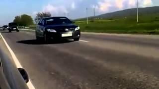 L' escorte de Vladimir Poutine lors de ses déplacements en Russie