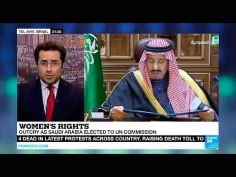 Why Saudi Arabia won seat on U.N. women's rights body - Hillel Neuer on France24