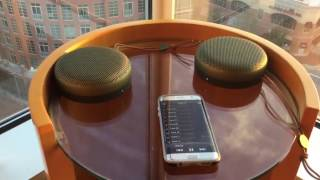 Pairing 2 B&O Beoplay A1 units in Stereo to Android Phone MP3 - Bang & Olufsen BeoPlay A1 how to