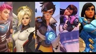 Overwatch All Cutscenes Movie (All Animated Shorts Full 2016 Edition)