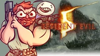 Resident Evil 5 - w/ Cry [Part 6] - Something in the water....