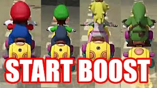 Mario Kart 8 Deluxe: ALL START BOOST SOUND CLIPS - Nintendo Switch