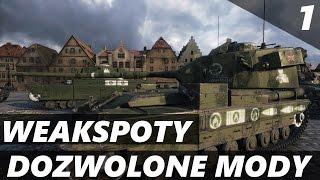 SKINY NA WEAKSPOTy, MODUŁY i ZAŁOGĘ..! Dozwolone Mody - World of Tanks