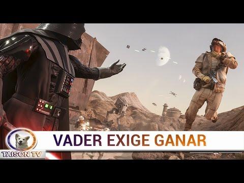 Star Wars Battlefront Vader quiere una Victoria en Jakku.