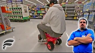 DRIFTING TOYS IN WALMART!