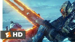 Pacific Rim Uprising (2018) - Robot Slugfest in the Snow Scene (3/10) | Movieclips