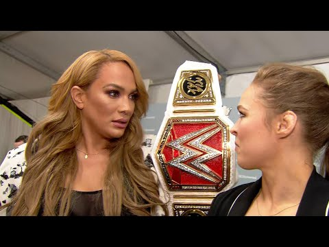 Xxx Mp4 Ronda Rousey To Challenge Raw Women S Champion Nia Jax At WWE Money In The Bank 3gp Sex