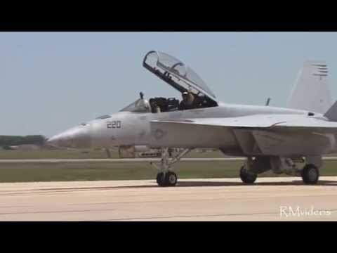 F/A-18F Super Hornet Demonstration - VFA-106 Gladiators - Andrews AFB Joint Service Open House 2011