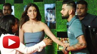 Anushka Sharma WEIRD BEHAVIOUR CAUGHT At Sachin A Billion Dreams Premiere