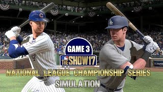 MLB The Show 17   Cubs vs Dodgers National League Championship Series Game 3 Simulation