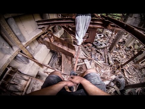 PARKOUR vs. WATCHDOGS Exploring An Abandoned Mine GoPro HERO3