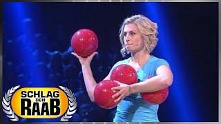 Spiel 2: Karussell-Ball - Schlag den Raab 50