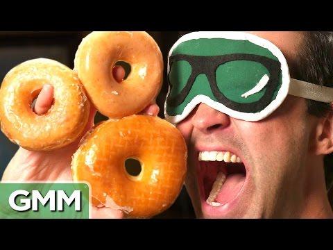 Blind Donut Taste Test
