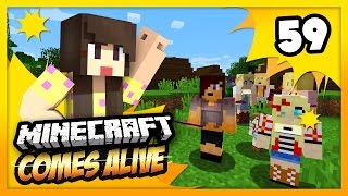 SAYING GOODBYE IS HARD! - Minecraft Comes Alive 4 - EP 59 (Minecraft Roleplay)