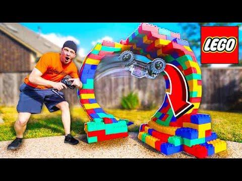 BUILDING A LEGO RC CAR LOOP INSANE