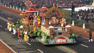 Odisha tableau at Republic Day 2017 - window to Oriya culture in Delhi
