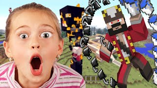 [PART3] Energetic 11 Year Old Girl Trolled on Minecraft (Minecraft Trolling & Griefing)