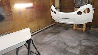 Painting the GTR Replacement Body Parts