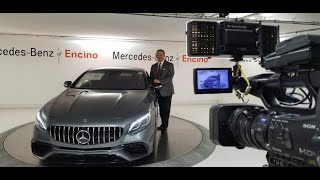 First look & Walk around for Mercedes-AMG S63 CP with Anoush @ Mercedes-Benz of Encino-S2-Ep4- Farsi