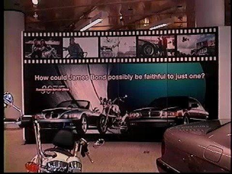 Bond Memories 3 - BMW Bond Display NYC 1997
