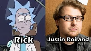 Characters and Voice Actors - Rick & Morty