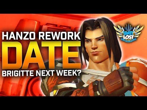 Overwatch News Hanzo Rework in April Brigitte Launch Next Week Sombra Nerfs