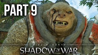 MIDDLE EARTH SHADOW OF WAR Gameplay Walkthrough Part 9 - FIRST RECRUIT (Full Game)