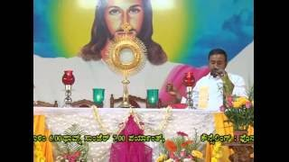 Healing Prayer Conducted By Rev.Fr.Francline Machado,SVD at Divine Call Centre Mulki
