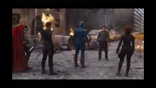 """The AVENGERS {HQ]- """"I'm bringing the Party to you"""" [..and Hulk, SMASH]"""