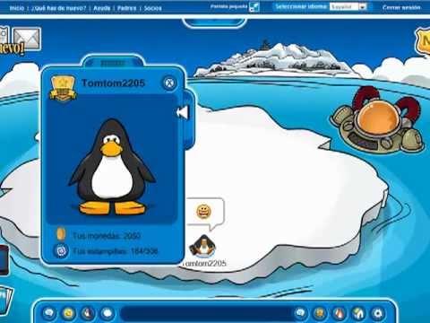 Club Penguin Contraseñas de Pinguinos Socios 2012 ABRIL .mp4