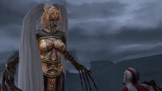 God of War 2: Sisters of Fate, Lahkesis and Atropos Boss Fight (4K 60fps)