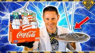 How To Make Lightning ⚡ With Coke Bottles