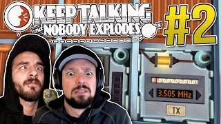Keep Talking and Nobody Explodes - Ep. 2 - MORSE CODE?! ★ Co-op Gameplay